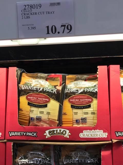 Cracker Tray at Costco