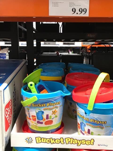 Kids' Play Bucket