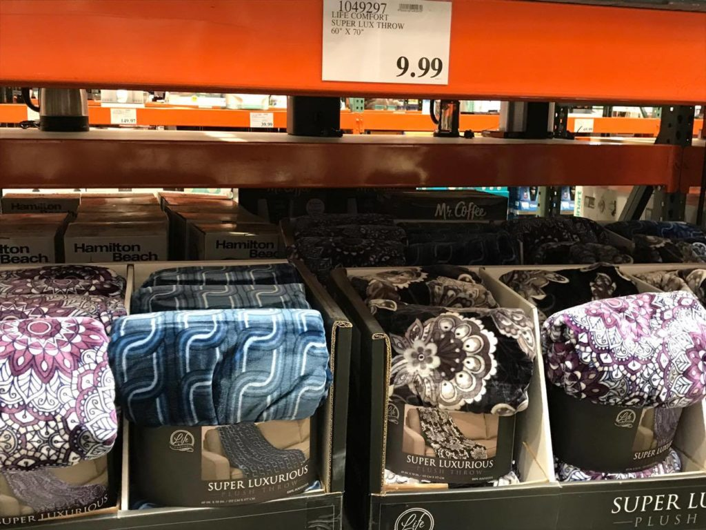 Lux Throw at Costco