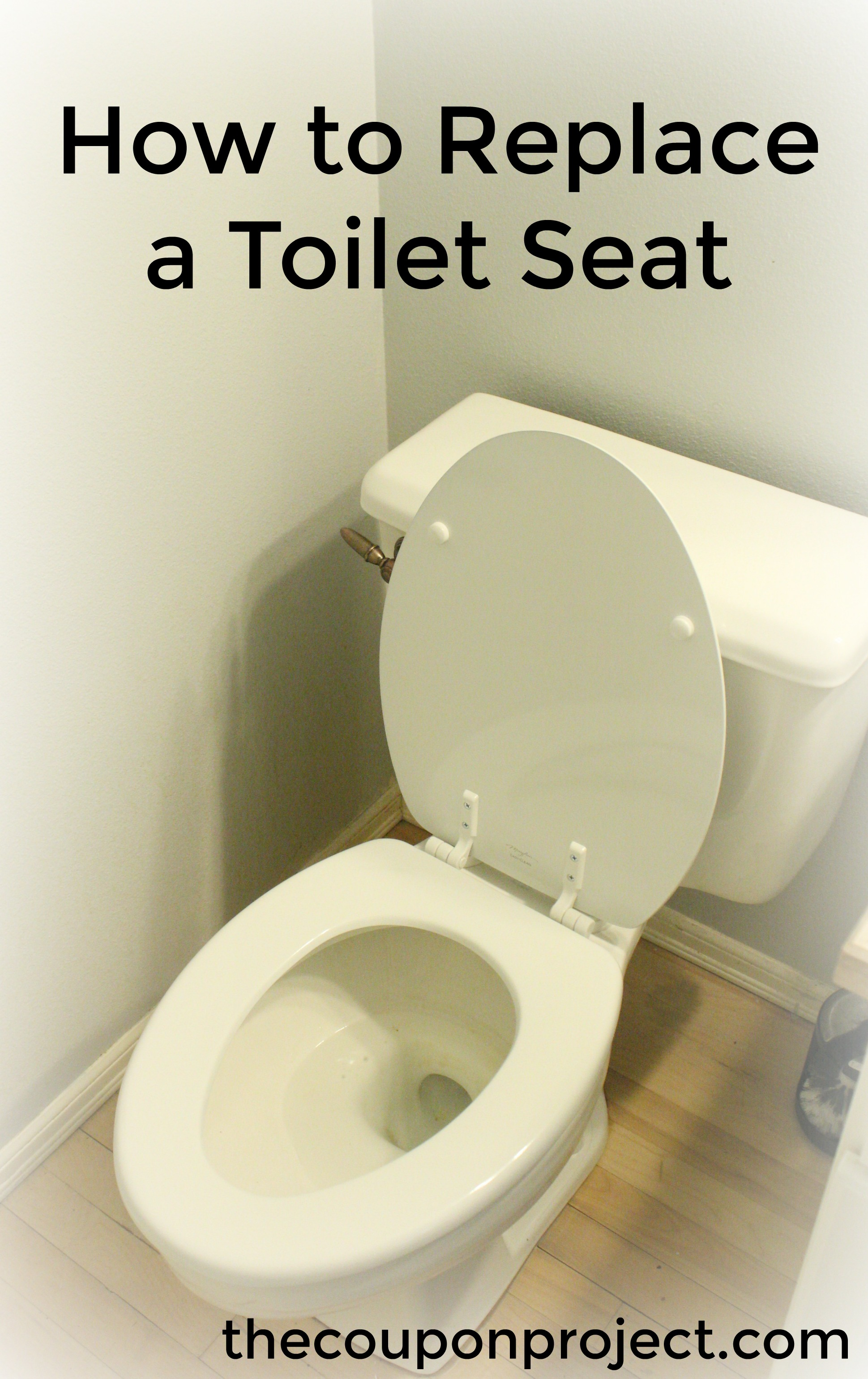 How To Replace A Toilet Seat The Coupon Project