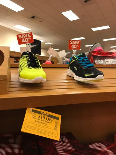 What I Found At The Fred Meyer Spring Shoe & Accessories