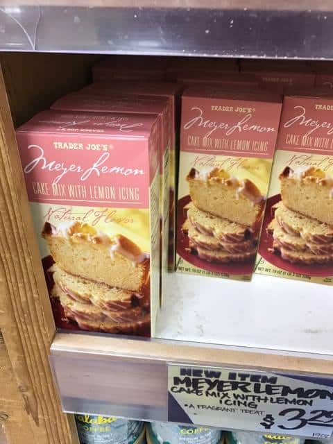 Meyer Lemon Cake at Trader Joe's