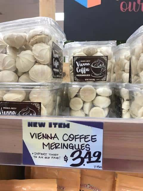 Vienna Coffee Meringes at Trader Joe's
