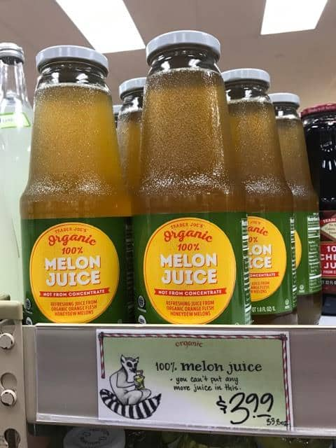 Melon Juice at Trader Joe's