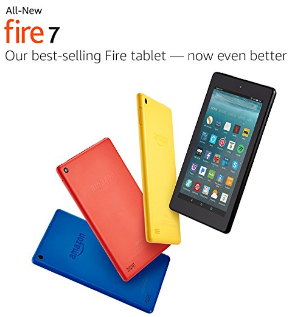 Amazon: All-New Fire7 Tablet $39.99 when you buy 3!