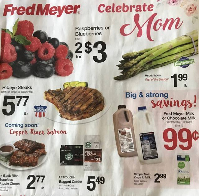 Fred Meyer Weekly Coupon Deals 5 7 – 5 13 $1 50