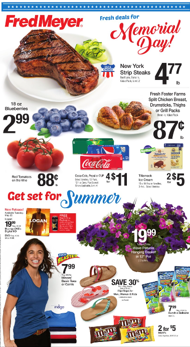 Fred Meyer Weekly Coupon Deals 5 21 – 5 27 $0 87 lb