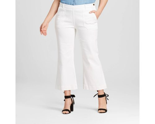 0608a442f5cea Women's Plus Size High Waisted Cargo Jean – Who What Wear: $18.48 (reg.  $36.99) Use the coupon code DENIM20 Your price: $14.78, or $14.04 if you  pay with ...
