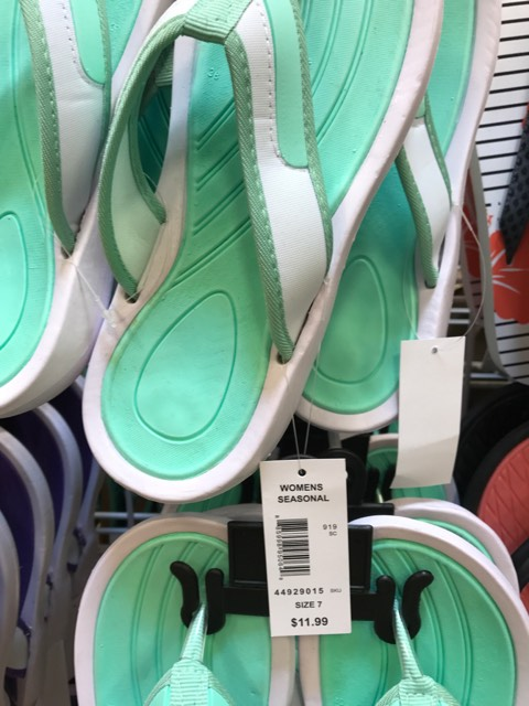 f676d6e38cbe I found many flip-flops priced at $11.99. That would work out to $4.80  after the Flash Sale!