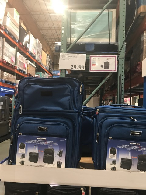 Carry on Luggage at Costco