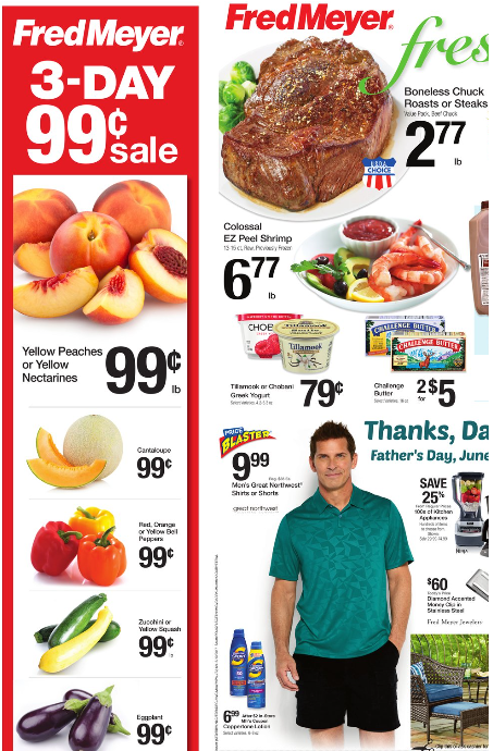 Fred Meyer Weekly Coupon Deals 6 4 – 6 10 $0 99 Produce