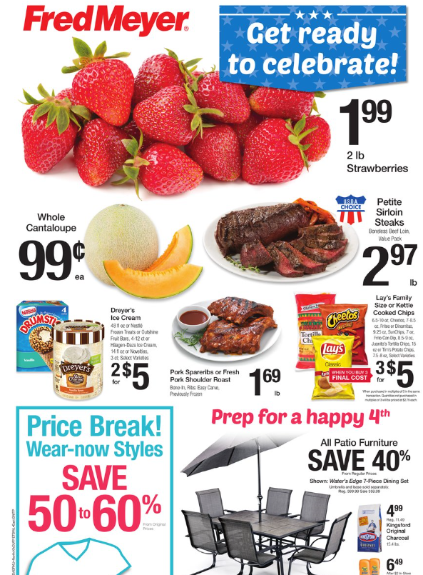Fred Meyer Weekly Coupon Deals 6 25 – 7 1 2 lb