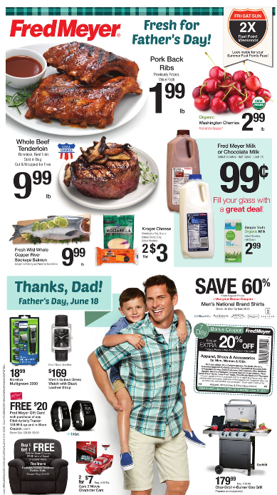 Fred Meyer Weekly Coupon Deals 6 11 – 6 17 $0 99 Milk