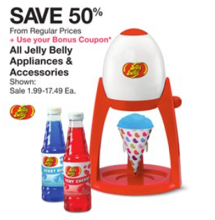 befdecc5485f All Jelly Belly Appliances & Accessories (think snow cone makers) Save 50%  Use the 10% off Home couponView Post