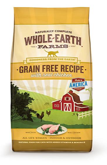 Whole Earth Farms Cat Food Coupon