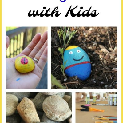 Summer Fun with the Kids: Painting Rocks
