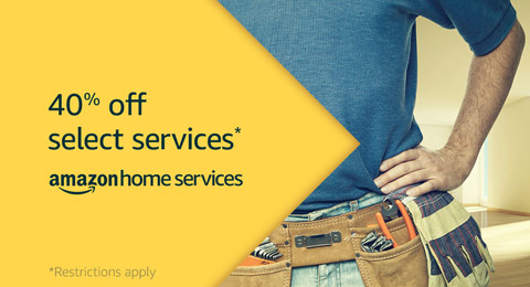 amazon prime day home services 40 off house cleaning