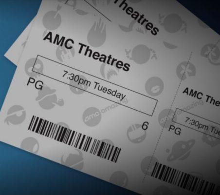 picture regarding Amc Printable Tickets identify AMC Theatres: $5 Ticket Tuesdays! - Thrifty Jinxy