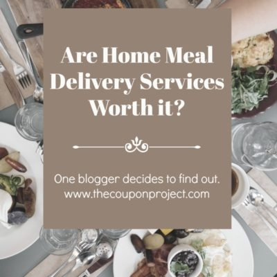Are Home Meal Delivery Services Really Worth it? I decided to find out.