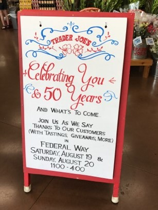 photo regarding Trader Joe's Printable Coupons called Investor Joes: 50th Anniversary in just August! - The Coupon Venture