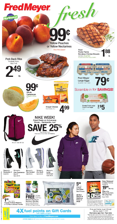 Fred Meyer Weekly Coupon Deals 8 6 – 8 12 Friends