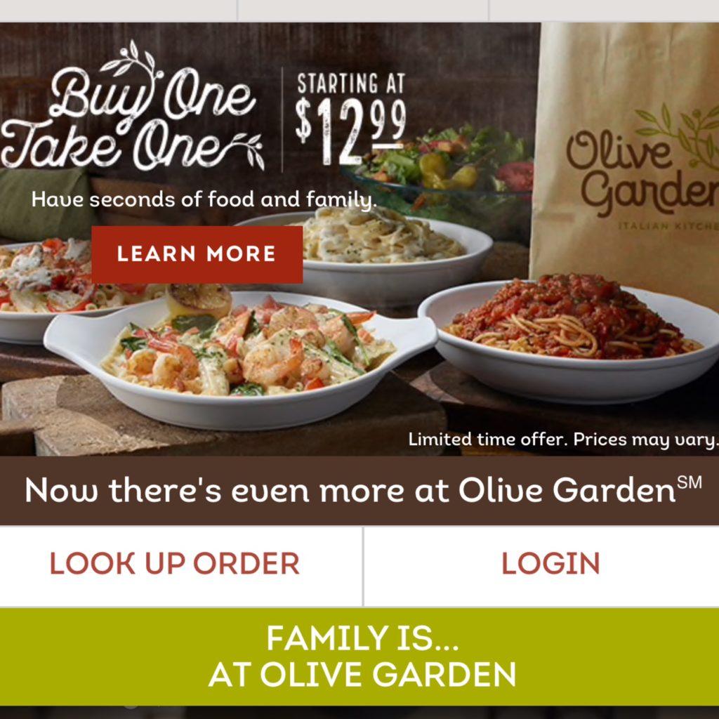 Olive Garden How Nina Scored 6 Entrees 3 Soups Salads Breadsticks For 33