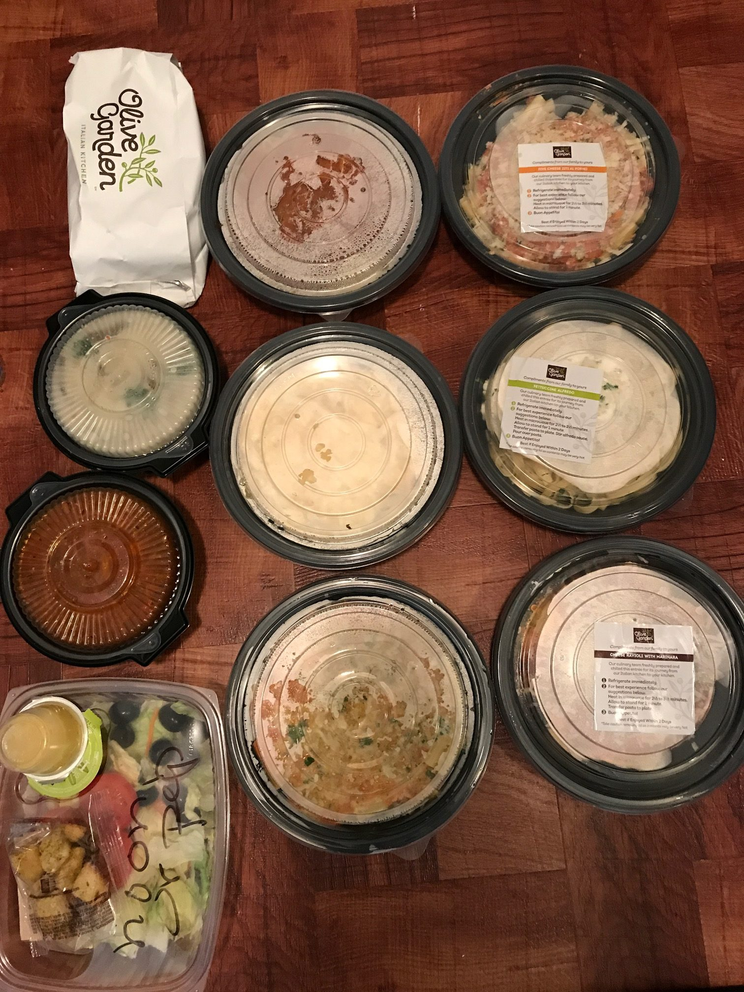 Olive Garden: How Nina Scored 6 Entrees, 3 Soups/Salads, + ...
