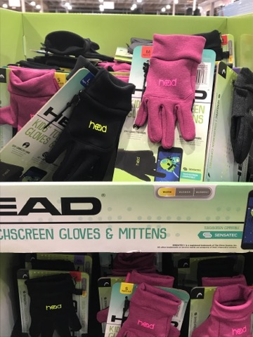 Kids Performance Gloves at Costco