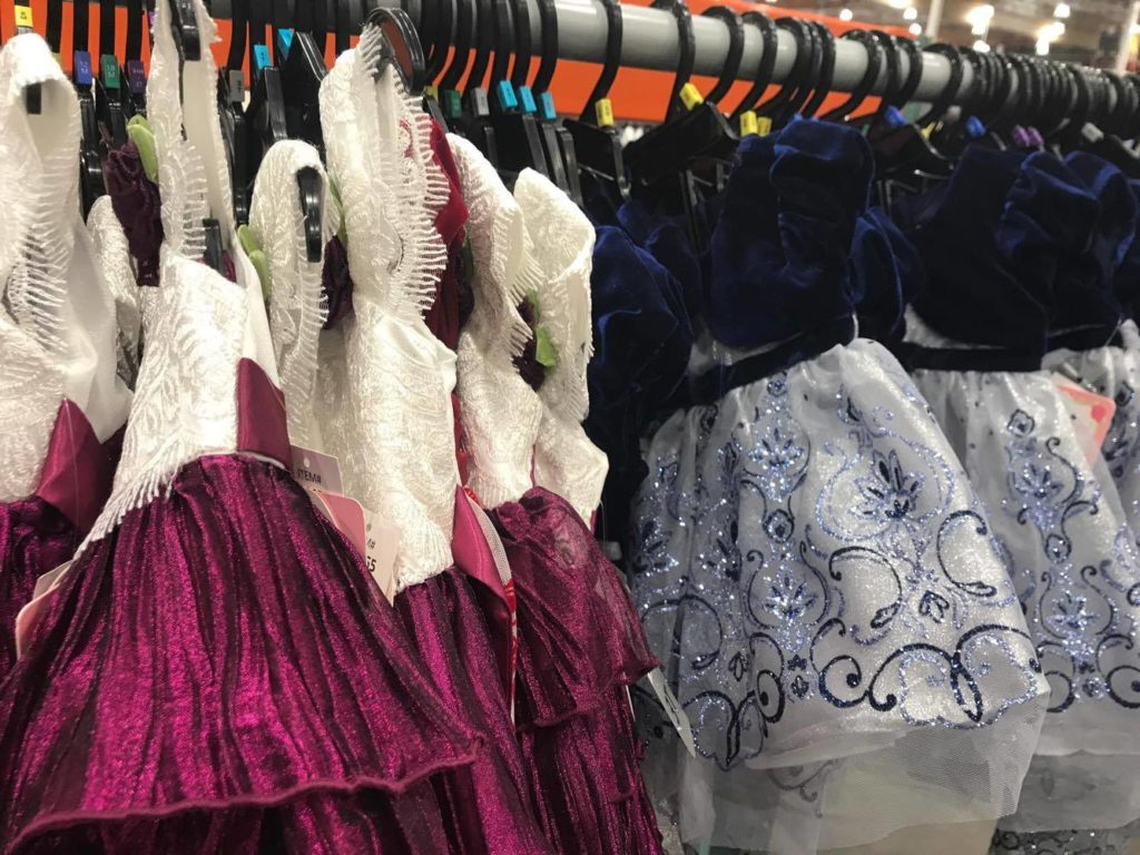 Girls Holiday Dresses at Costco
