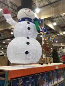 Christmas Decor at Costco