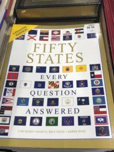 50 States Book at Costco