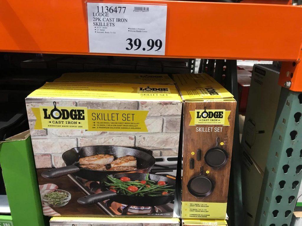 Lodge Skillet Set at Costci