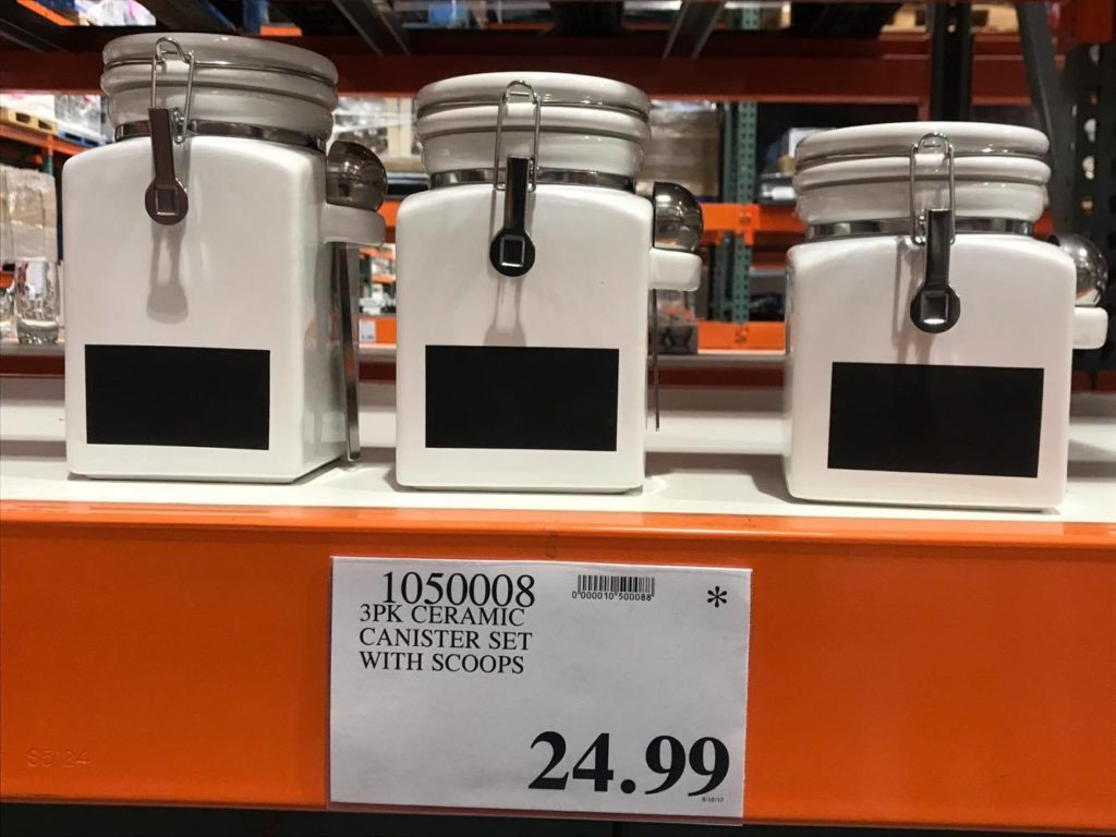 Ceramic Canister Set at Costco