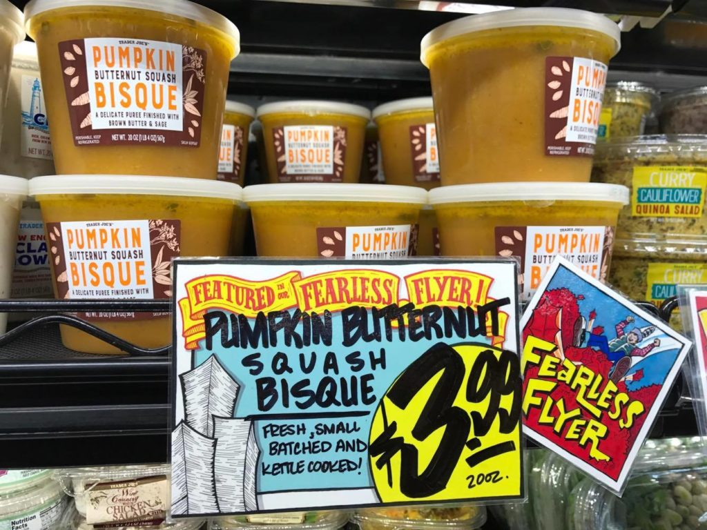 Pumpkin Bisque at Trader Joe's