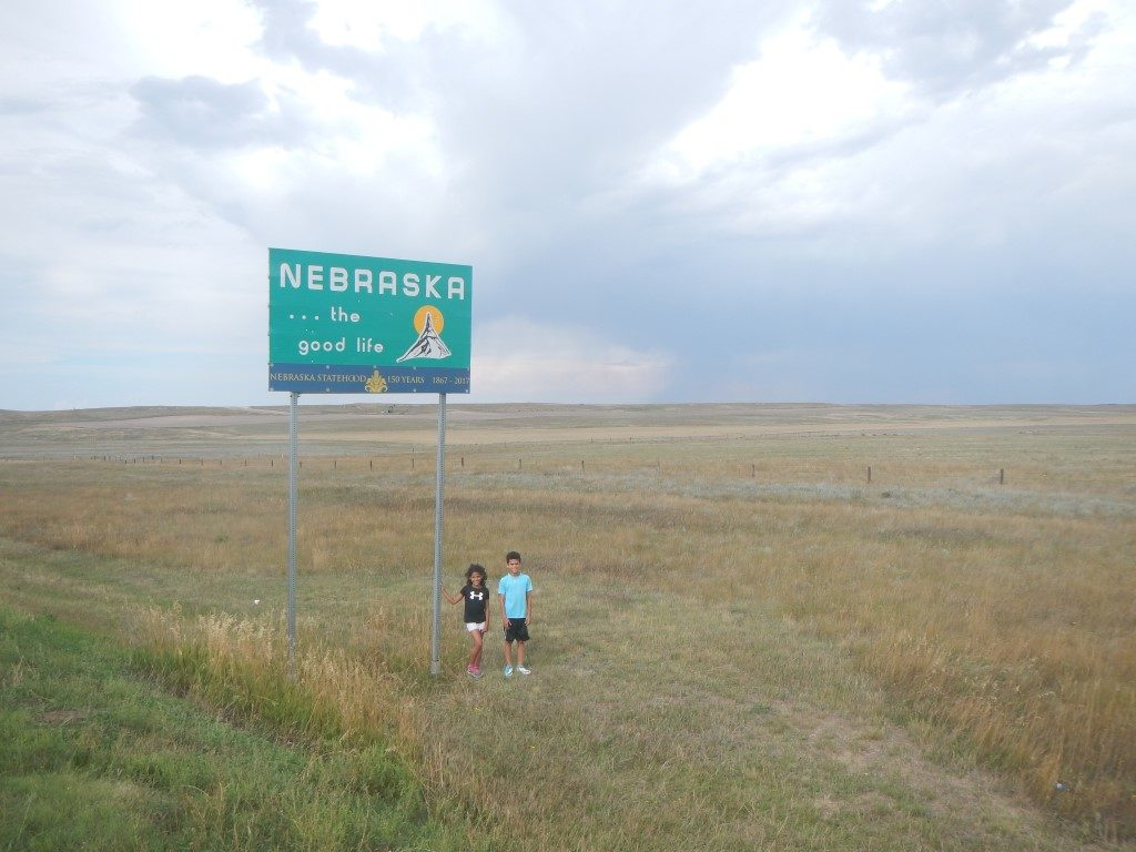 Nebraska and Wyoming