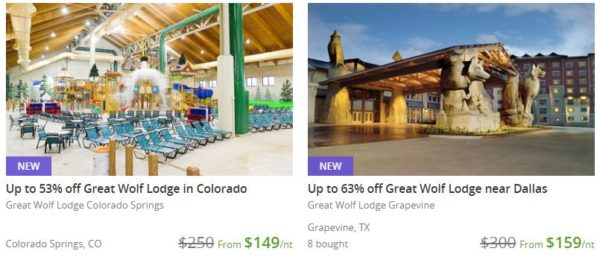 Great Wolf Lodge On Groupon As Low As 143 Night For A Family Suite Possible 50 Dining Credit