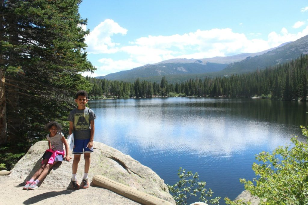 Hiking in the Rocky Mountain National Park