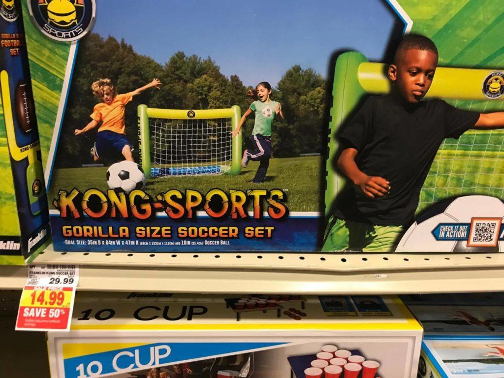 Gorilla Size Soccer Set