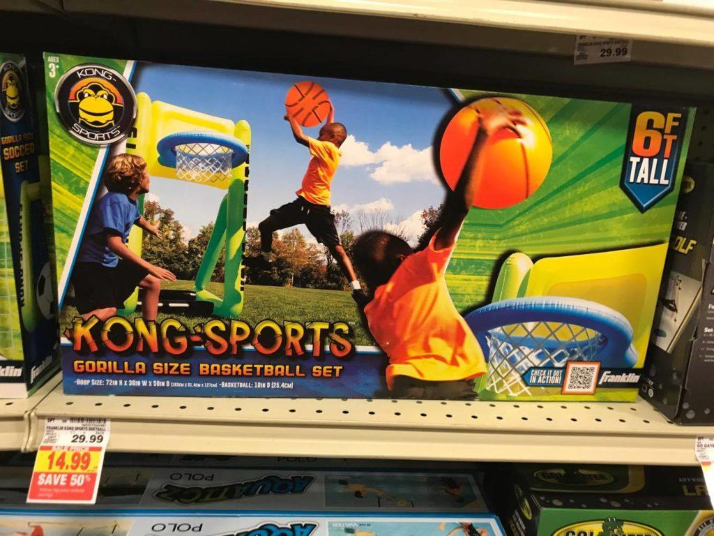 Gorilla Size Basketball Set