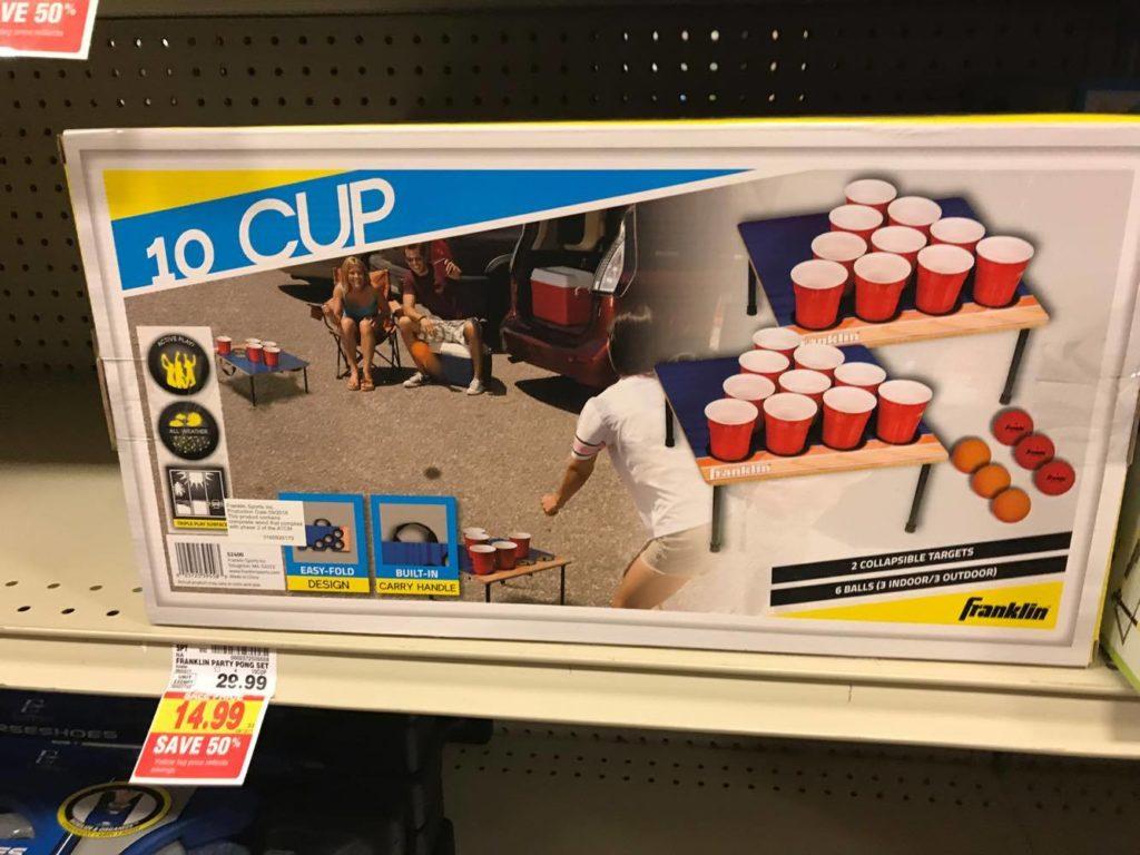10 Cup Ball Toss