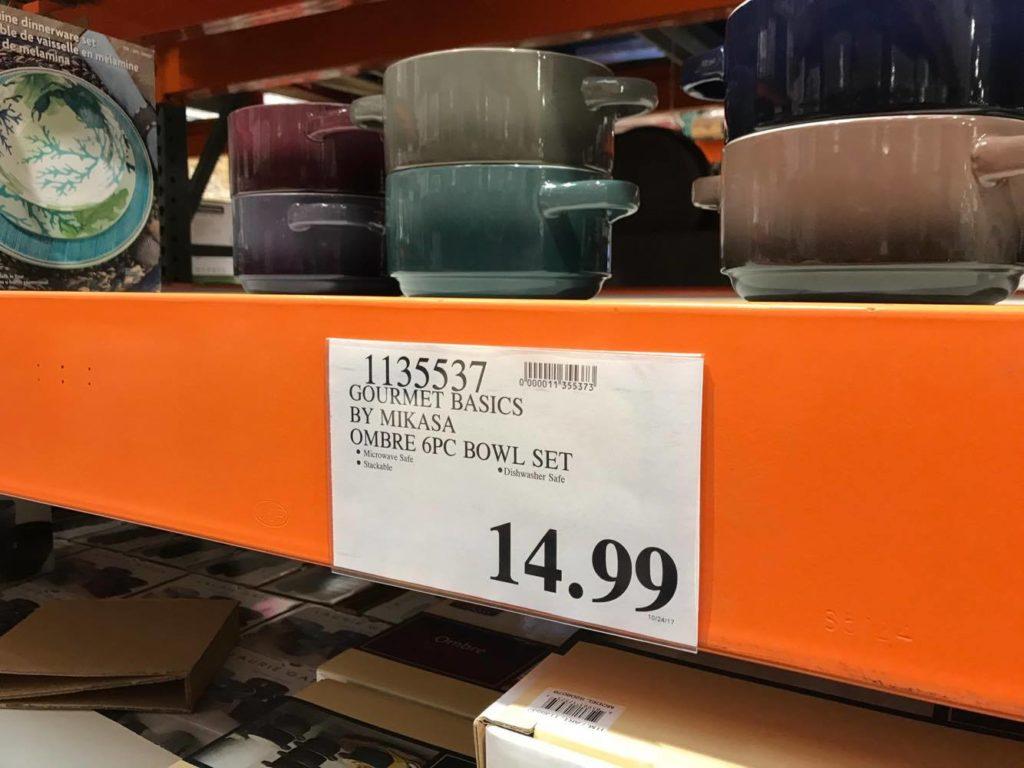 Mikasa Soup Bowls at Costco