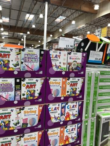 Creative Kits for Kids at Costco