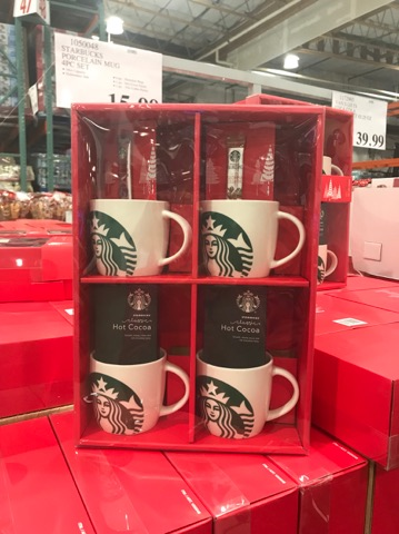 Starbucks Gifts at Costco