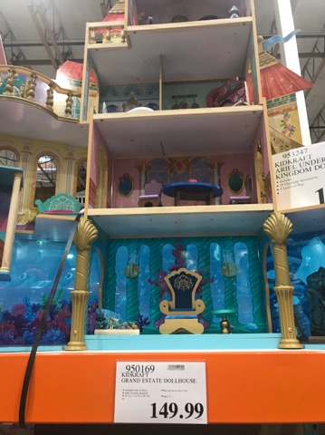 Dollhouse at Costco