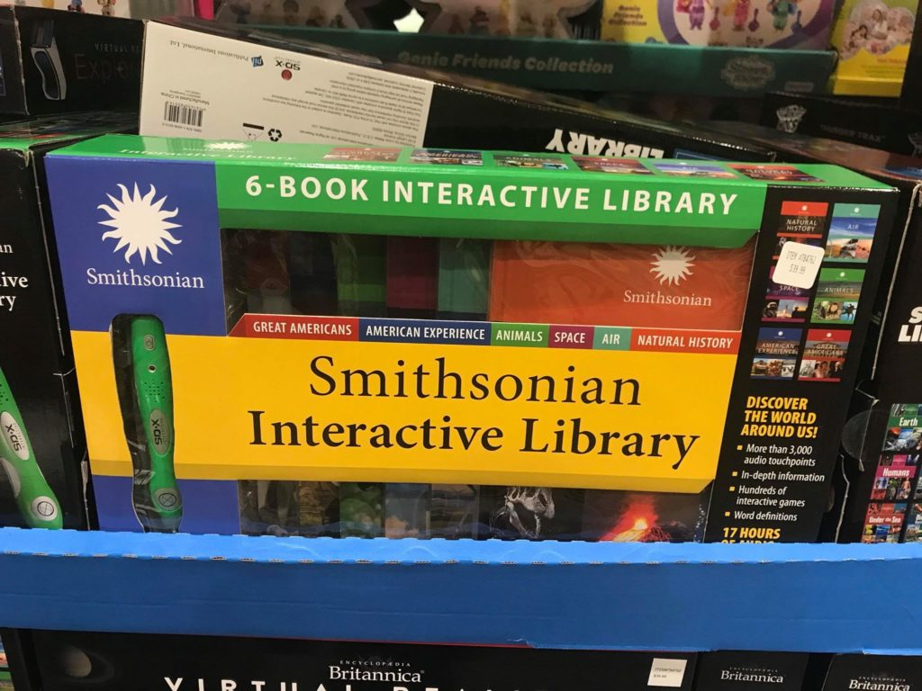 Smithsonian Interactive Library at Costco