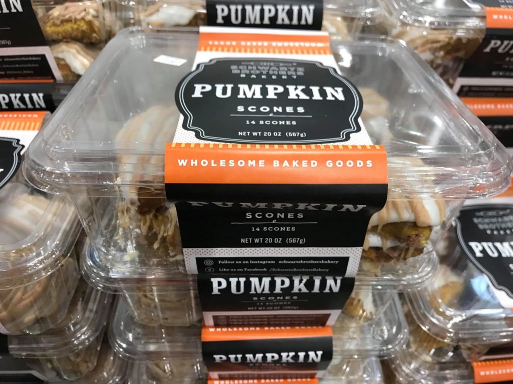 Pumpkin Scones at Costco
