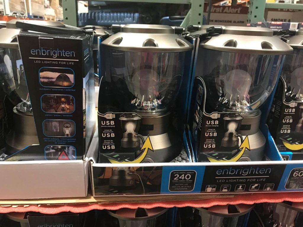 Lanterns with USB Ports at Costco