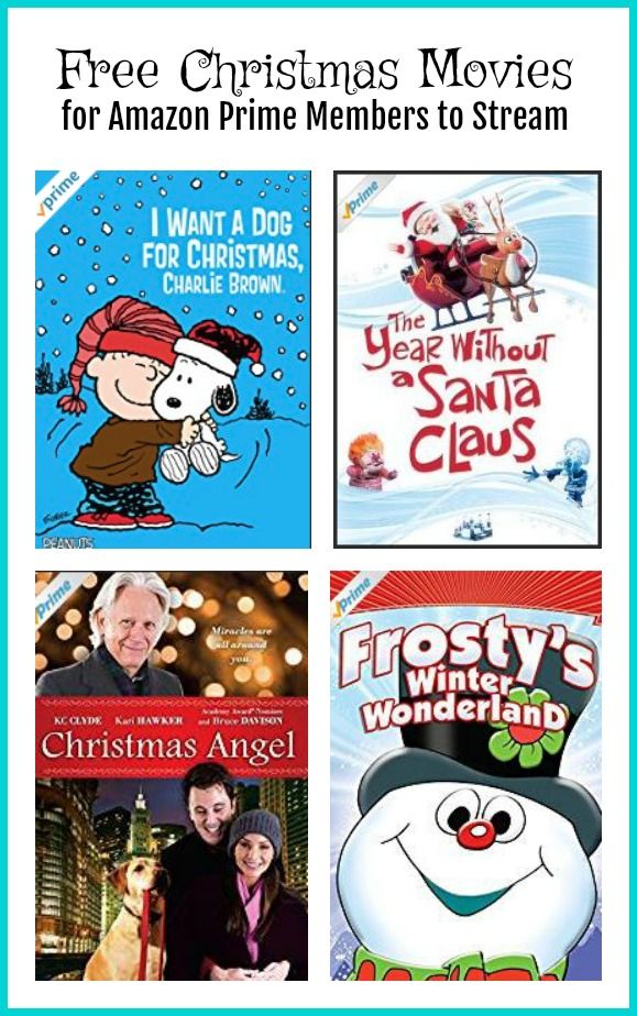 i always have to watch christmas movies this time of year if you are an amazon prime member you can take advantage of a good selection of free christmas - Amazon Christmas Movies