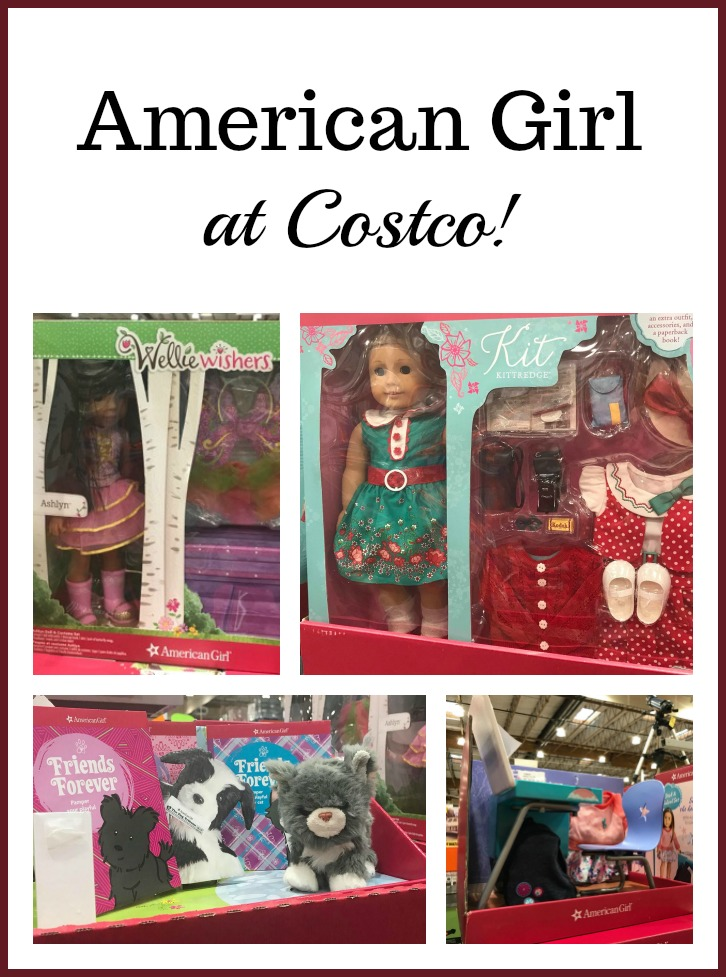 graphic relating to American Girl Printable Coupons known as Costco: American Female Solutions Noticed at My Keep! - The