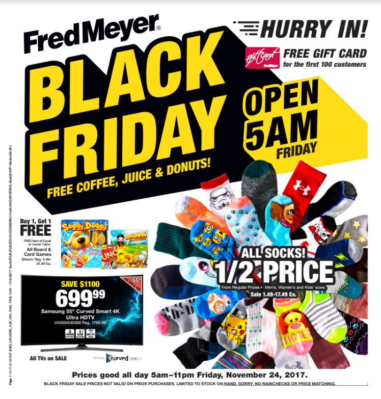 Fred Meyer Black Friday Ad